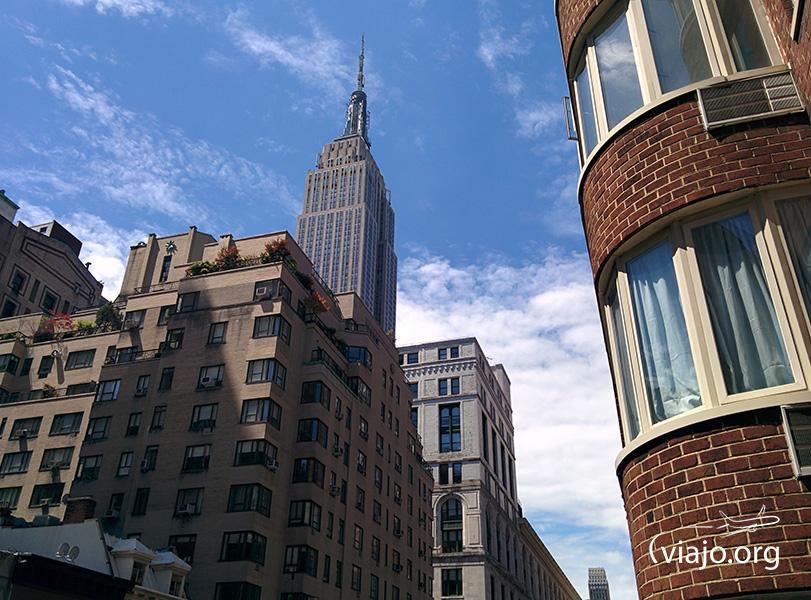 Empire State Building vista desde el departamento