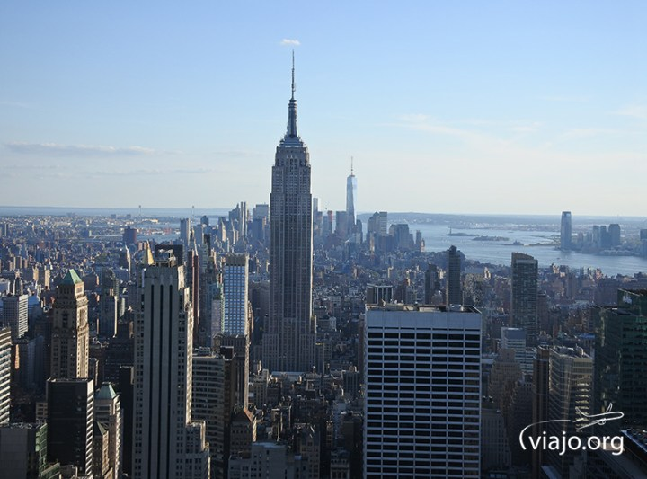 Empire State Building - Vista Top of The Rock