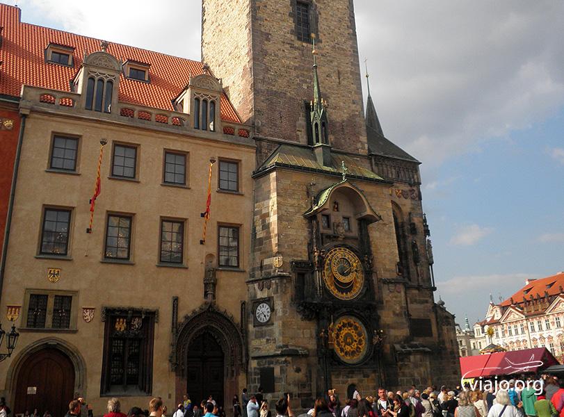 El Reloj Atronómico de Praga