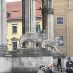 Munich - Los leones de Feldherrenhalle