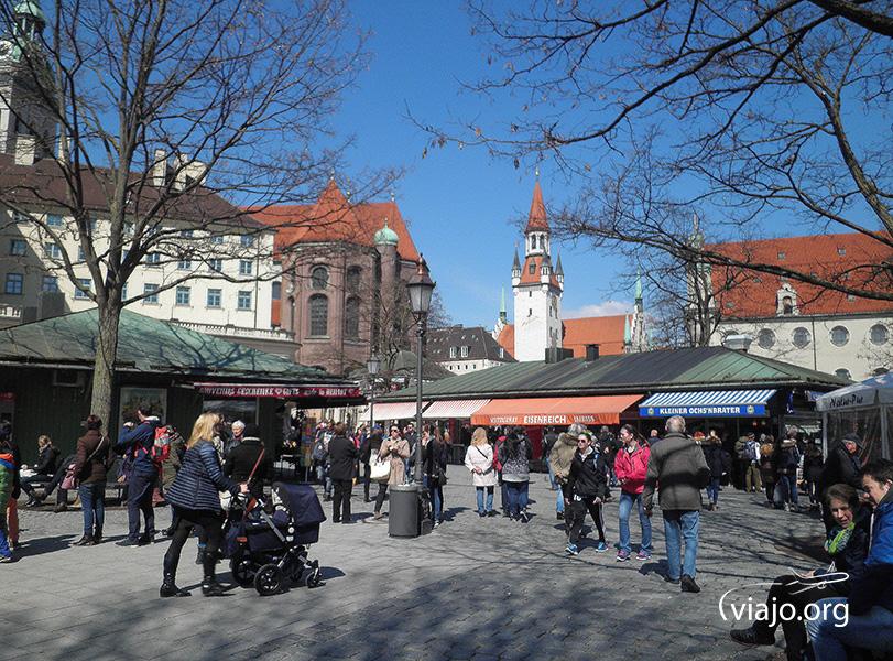 Munich - Viktualienmarkt