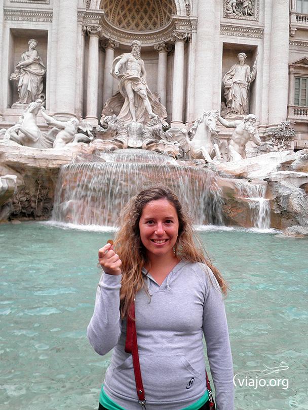 Fontana di Trevi - Pidiendo un deseo ♥
