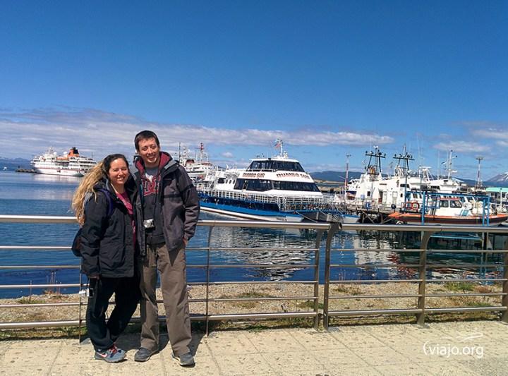 Costa del Puerto de Ushuaia