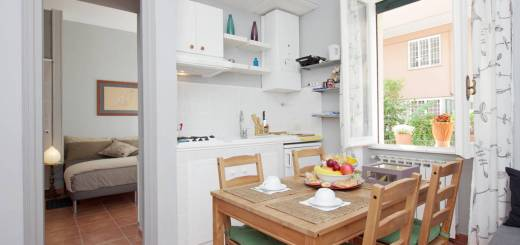 Nuestro departamento de Airbnb en Roma