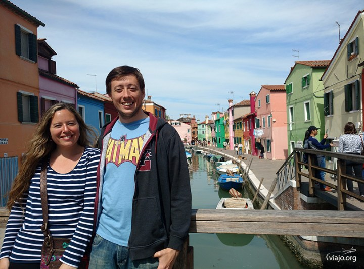 Felices de conocer Burano