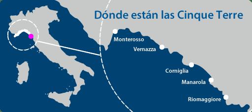 Donde está Cinque Terre