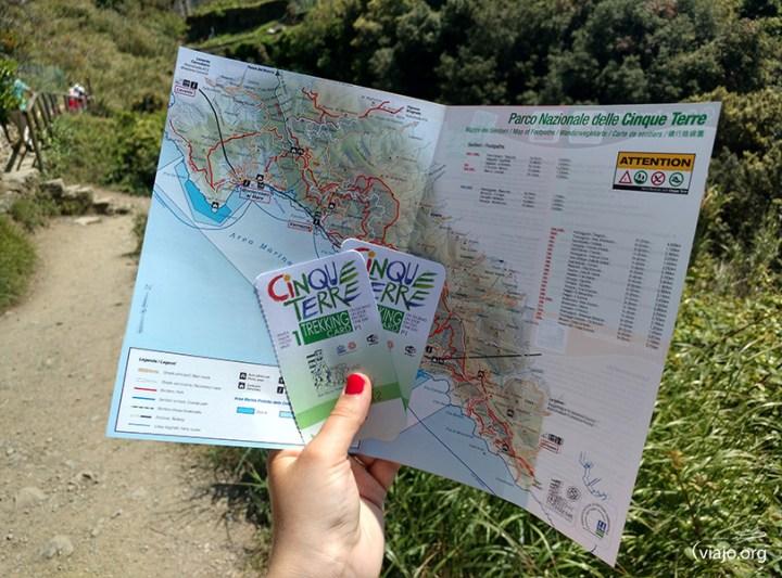 Trekking Card Cinque Terre