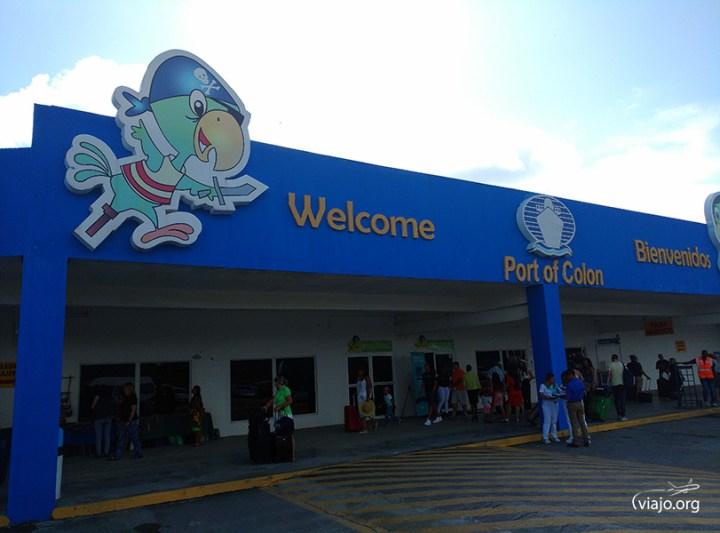 Puerto de Colón, Panamá - Embarque Monarch de Pullmantur