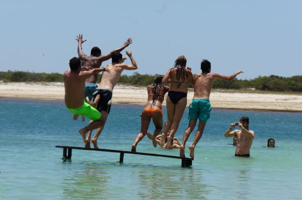 Lagoa Azul em Jeri