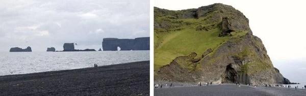 Reynisdrangar na Islândia