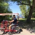 Toronto Island de bike