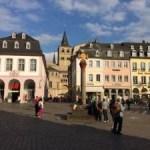 Praça de Trier na Alemanha