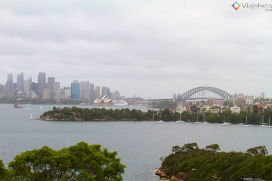 Visual de Sydney a partir do Taronga Zoo