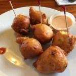 Conch fritters em Bahamas