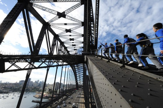 Escalando a Sydney Harbour Bridge (10)