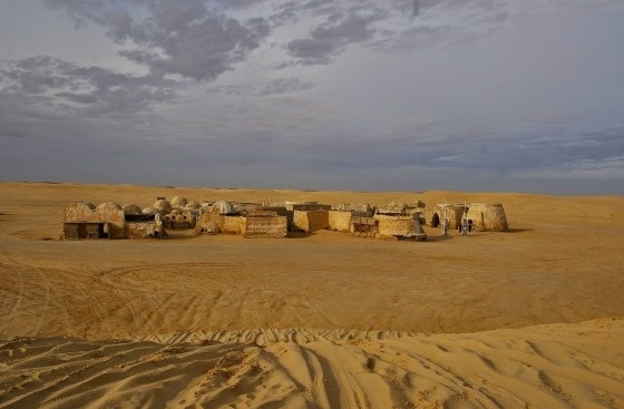 Set de filmagens do Star Wars