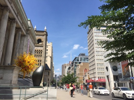 Musee Beaux Arts em Montreal