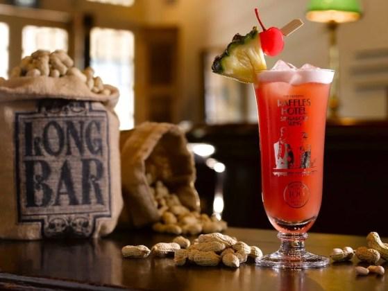 Singapore Sling o drink simbolo de Singapura
