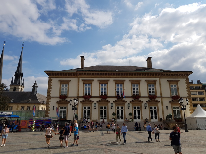 Luxemburgo Place Guillaume II Hôtel de Ville