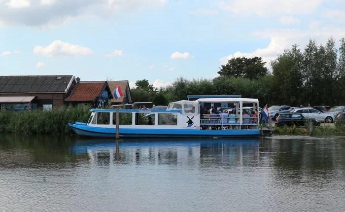 Kinderdijk barco + museus