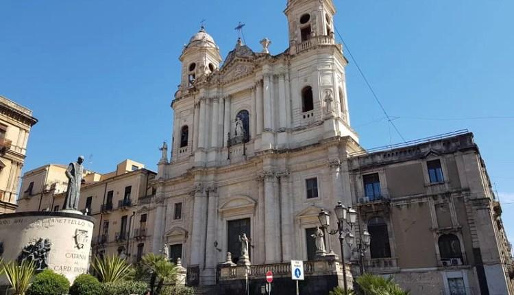 Atrações de Catânia Via Crociferi Chiesa di San Francesco d'Assisi all'Immacolata