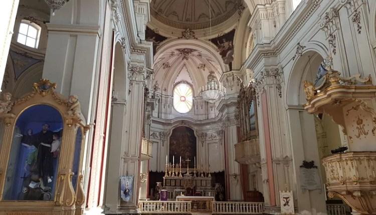 Atrações de Catânia Via Crociferi Chiesa di San Francesco d'Assisi all'Immacolata1