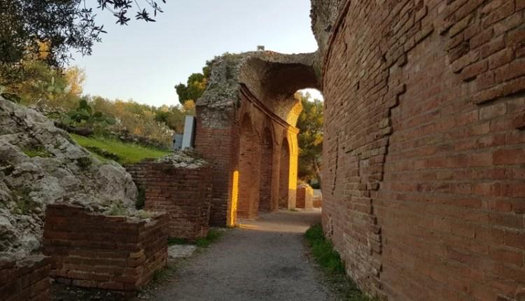 Teatro Antico de Taormina Pórtico
