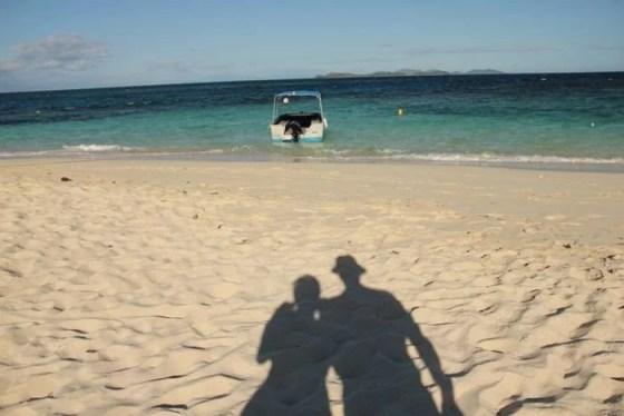 Casal Mikix em Fiji