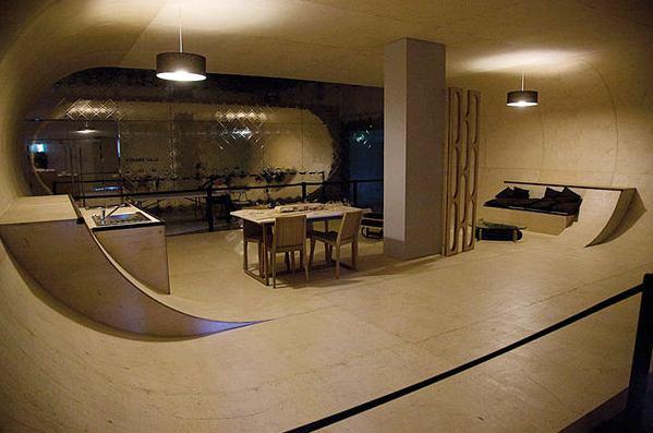 Habitación skaters