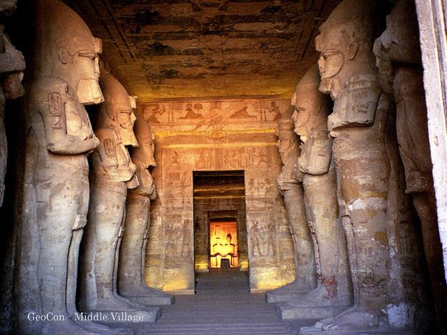 El templo de Ramsés II