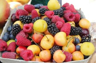 Fruta contra al ataque al corazón