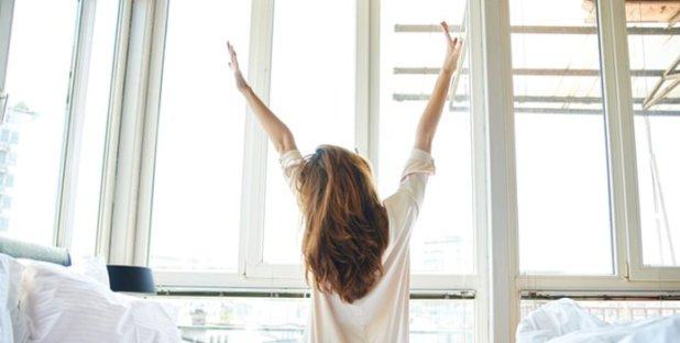 Levantarse con energía