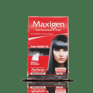 Maxigen Tinte Permanente en Polvo Color Negro Natural 58