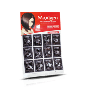 Maxigen Tinte Permanente en Polvo Sin Peróxido Castaño 47