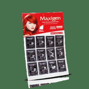 Maxigen Tinte Permanente en Polvo Sin Peróxido Rojo Cobrizo 26