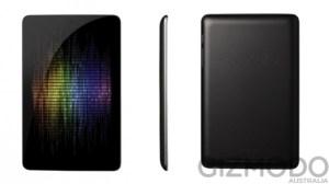 Tablet Nexus, do Google (Foto: Reprodução/GizmodoAU)