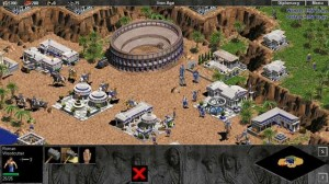 Tela do game Age of Empires