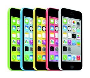 Este é o colorido iPhone 5c