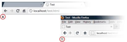 Viu, a fonte icônica é exibida no Chrome, mas no Firefox não. Então como utilizar fontes icônicas no Firefox