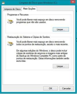 Como limpar o Windows: guia completo - limpando restauração do sistema
