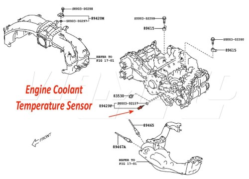 small resolution of toyota part number su003 00420