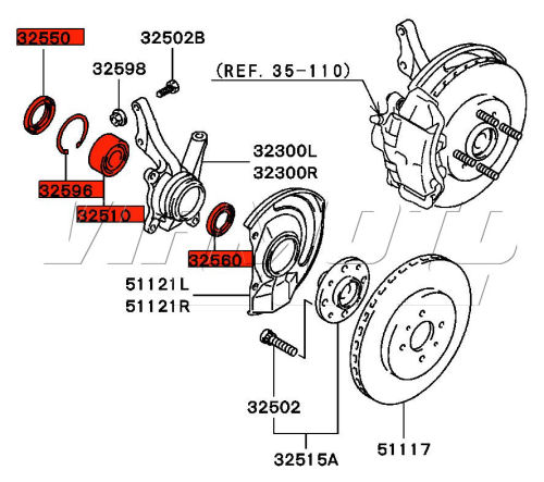 Service manual [Diagram To Change Wheel Bearing On A 1994