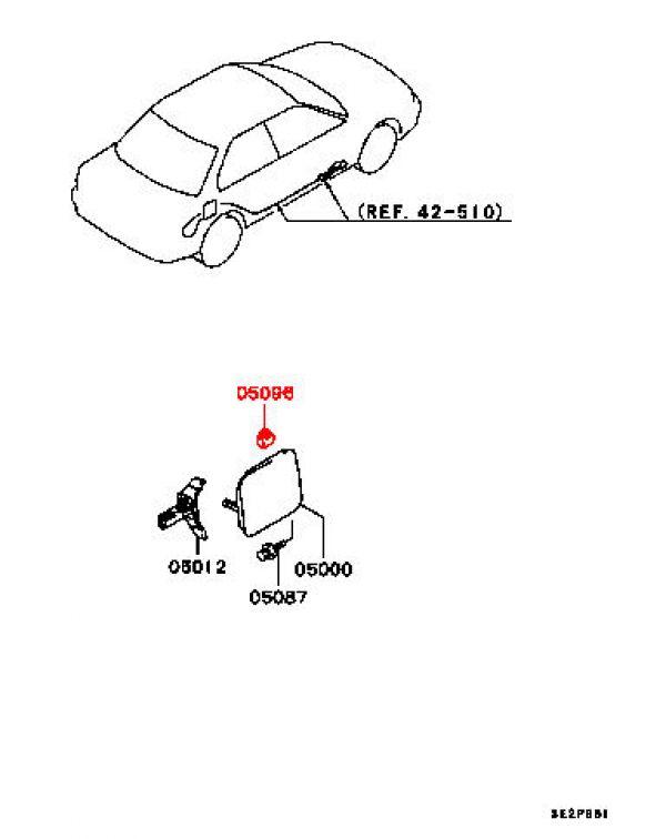Viamoto Car Parts, Mitsubishi Lancer EVO 2 3 CE9A Parts