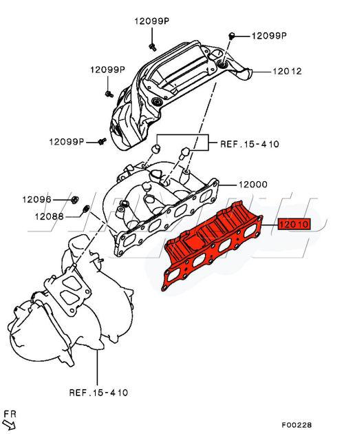Viamoto Car Parts, Mitsubishi Lancer EVO Parts