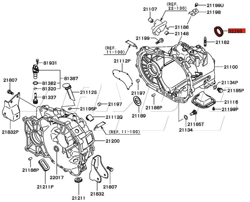 Evo 8 Transmission Diagram, Evo, Free Engine Image For