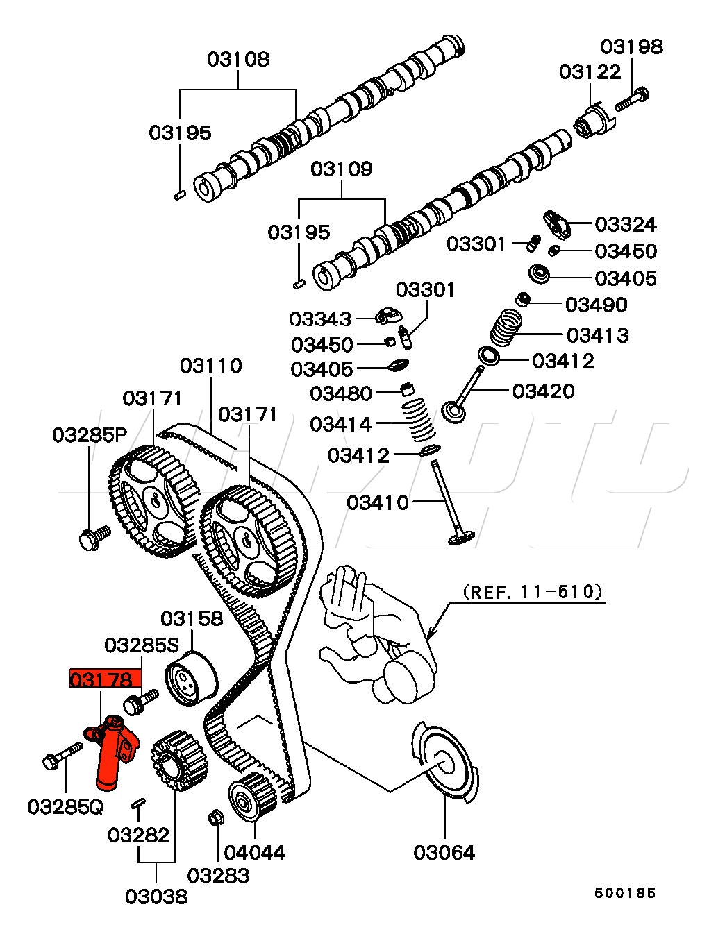 Mitsubishi Lancer Engine Schematic