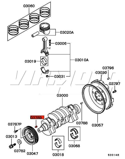 Viamoto Car Parts, Mitsubishi Lancer EVO 1 CD9A Parts, EVO