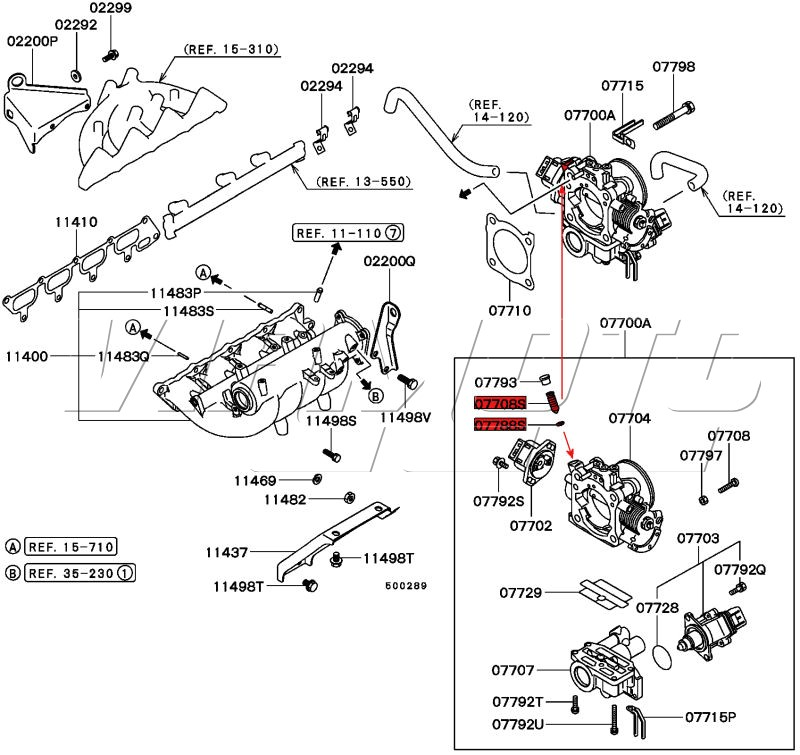 Service manual [1998 Eagle Talon Transmission Line Diagram