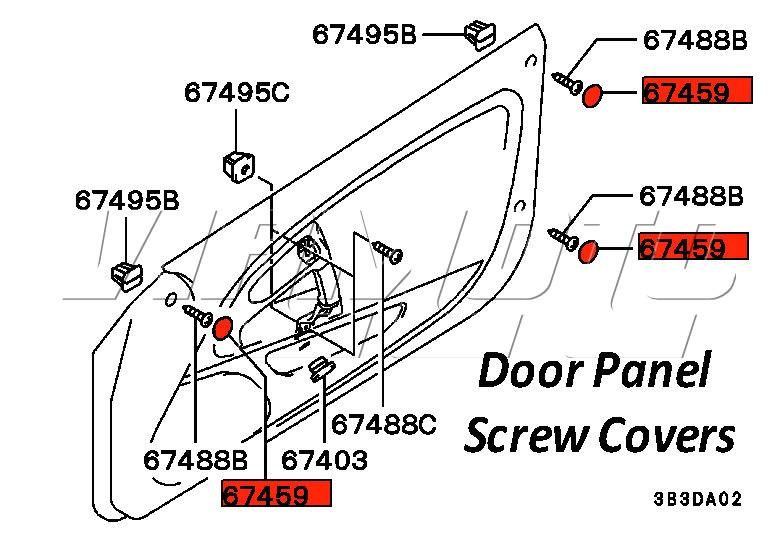 Mitsubishi Door Panel Diagram : 29 Wiring Diagram Images