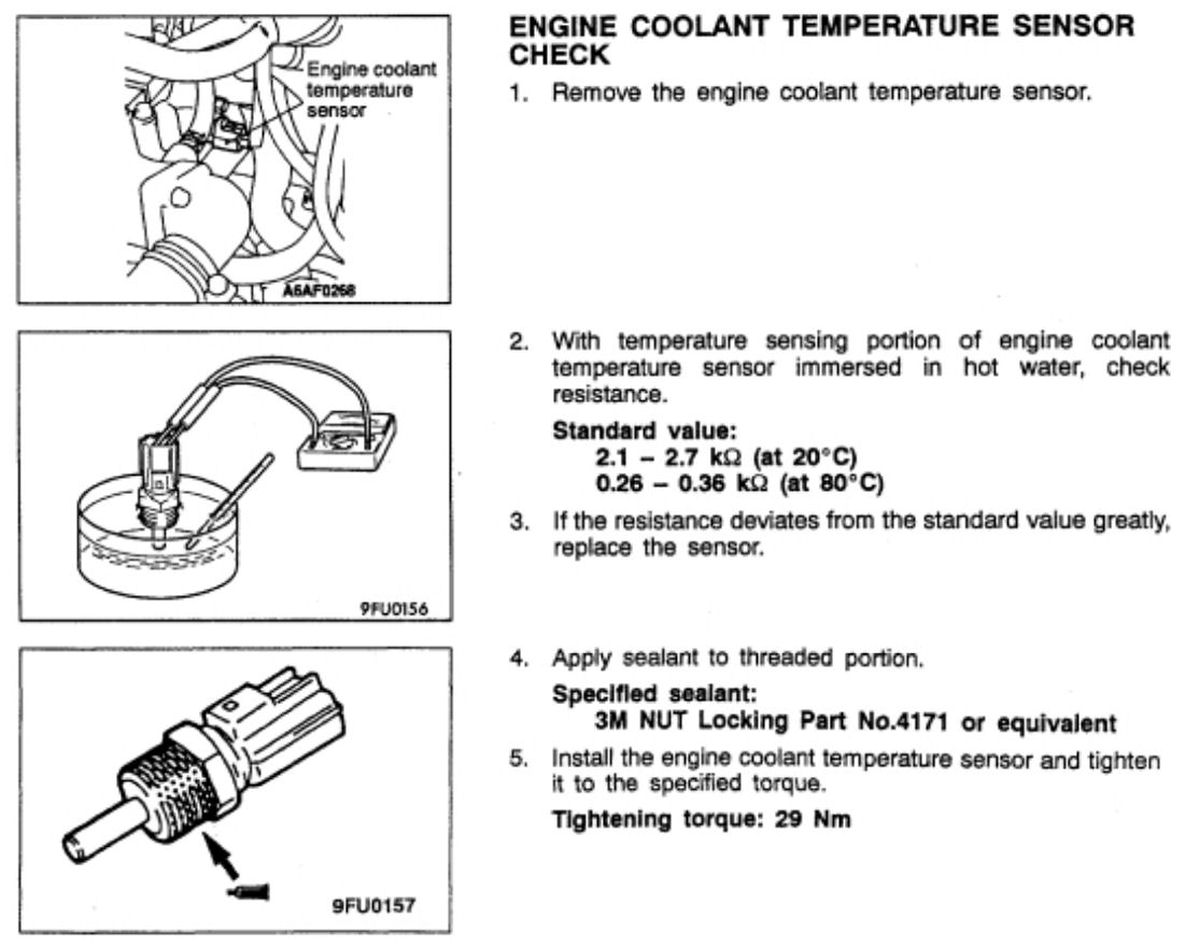 hight resolution of engine coolant temperature sender also called ecu temp sensor this item can cause emissions problems if faulty